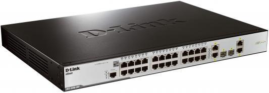Коммутатор D-LINK DES-3200-28P коммутатор switch d link des 3200 10