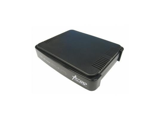 Модем ADSL Acorp Sprinter@ADSL LAN410 AnnexА  ADSL2+, 4 LAN Сплиттер