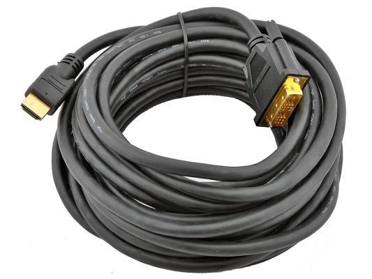 Фото - Кабель HDMI-DVI 7.5м Gembird CC-HDMI-DVI-7.5MC экранированый видеокарта 6144mb gigabyte geforce gtx 1060 windforce oc pci e 192bit gddr5 dvi hdmi dp gv n1060wf2oc 6gd retail