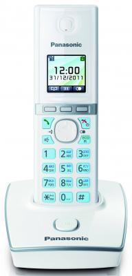 Фото Радиотелефон DECT Panasonic KX-TG8051RUW белый радиотелефон
