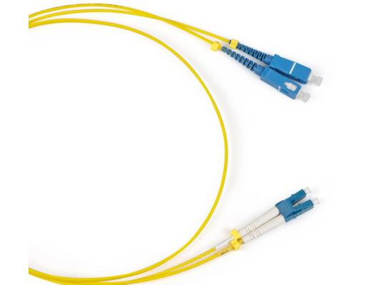 Патч-корд волоконно-оптический Hyperline FC-9-LC-SC-UPC-1M (шнур) SM 9/125 (OS2), LC/UPC-SC/UPC, duplex, LSZH, 1 м amiens sc fc nantes