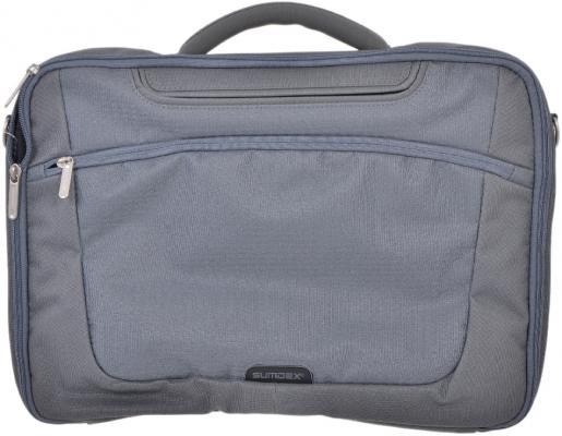 """Сумка для ноутбука 15"""" Sumdex PON-301GP Gray сумка для ноутбука 15 sumdex pon 321nv синий"""