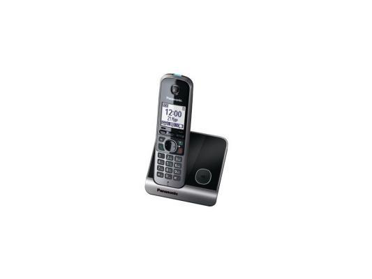 Радиотелефон DECT Panasonic KX-TG6711RUB черный