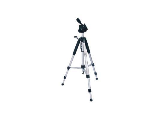 Штатив Rekam RT-M45G напольный трипод 3D-головка до 155 см нагрузка до 4 кг серебристый