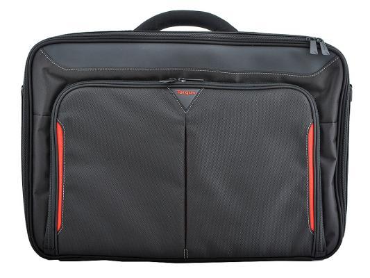 Сумка для ноутбука 17 Targus CN418EU Classic полиэфир черный сумка для ноутбука targus classic clamshell cn418eu 70 black полистер до 18