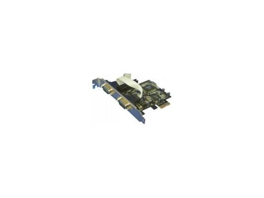 Контроллер PCI-E 2хCOM ОЕМ 634454 ASIA PCIE 2S