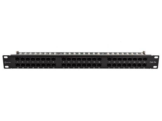 Патч-панель 5bites LY-PP5-75 UTP 5e кат 48 портов Krone&110 dual IDC 19 патч панель itk pp48 2uc5eu d05 48 портов кат 5e utp