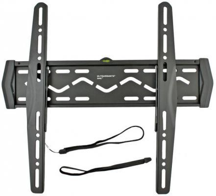 Кронштейн Ultramounts UM102 черный 23-42 настенный от стены 17мм VESA 400x400 до 50кг