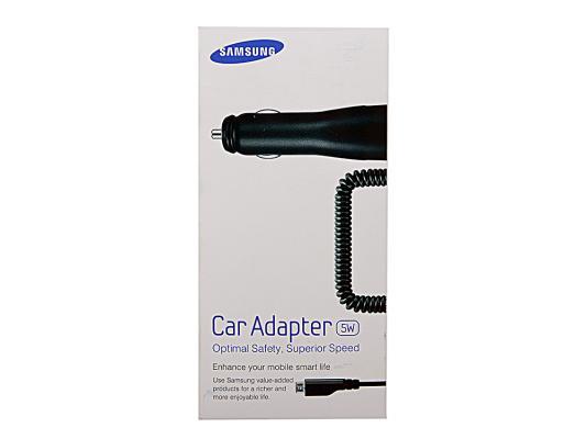 Автомобильное зарядное устройство Samsung ECA-U16CBEGSTD microUSB 1A черный  автомобильное зарядное устройство samsung eca u16cbegstd black