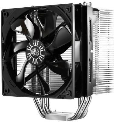 Кулер для процессора Cooler Master Hyper 412S RR-H412-13FK-R1 Socket 775/1155/1156/1366/2011/AM2/AM2+/AM3/AM3+/FM1 кулер cooler master x dream i117 rr x117 18fp r1 s775 s1150 1155 s1156