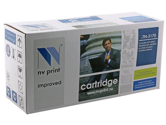 Картридж NV-Print TN-3170 для Brother HL-5240 HL-5250DN HL-5270DN DCP-8065DN MFC-8860DN cs tn650 bk print top premium toner cartridge for brother tn 3230 3290 3280 hl 5350 5350d 5350dn 5350dnlt 3kpages free fedex