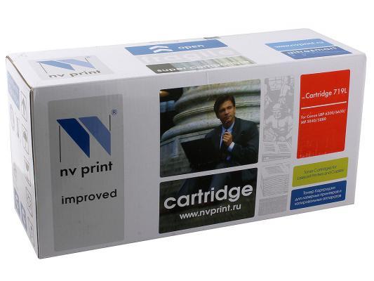 Картридж NV-Print 719L для Canon LBP 6300dn 6650dn MF5840dn 5880dn картридж для принтера nv print для hp cf403x magenta
