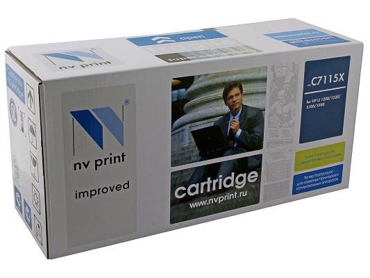Картридж NV-Print C7115X для HP LJ 1200/1220 картридж nv print c7115x для hp lj 1200 1220