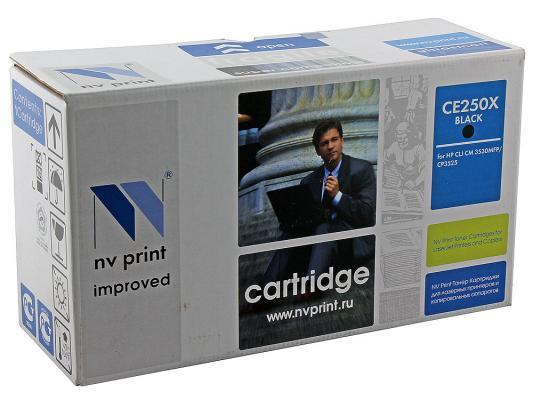 Картридж NV-Print CE250X черный для HP Color LJ CM3530 CP3525dn