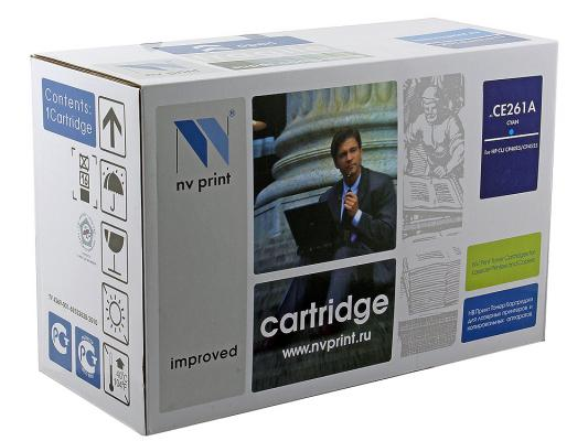 Картридж NV-Print CE261A голубой для HP Color CP4520 CP4525 d19 sbd6943 nv
