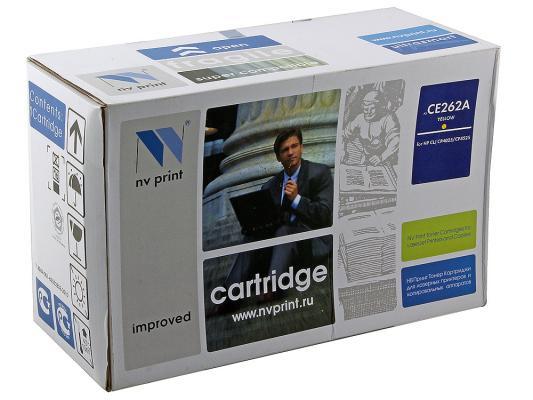 Картридж NV-Print CE262A желтый для HP CP4520 CP4525 картридж nv print q7516a для hp lj 5200 5200dtn 5200l 5200tn 5200n 5200lx