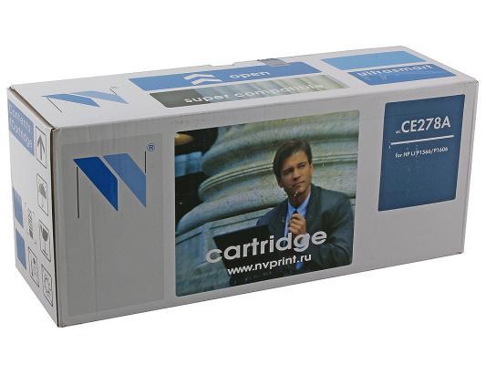 Картридж NV-Print CE278A для HP LJ P1566/P1606w чёрный 2100 стр картридж для принтера nv print для hp cf403x magenta
