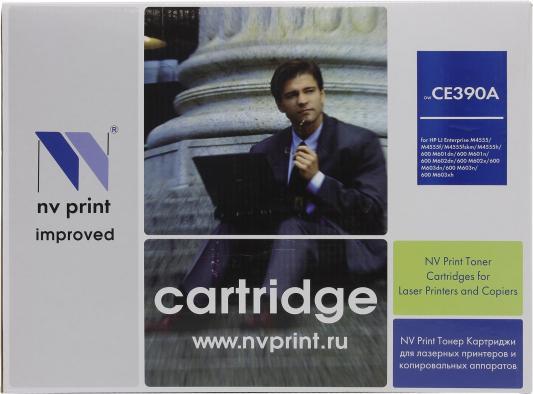 Картридж NV-Print CE390A для HP LaserJet M4555MFP nv print cf303a magenta тонер картридж для hp laserjet enterprise flow mfp m880z m880z plus m880z plus nfc