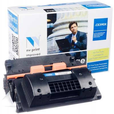 Картридж NV-Print CE390X для HP LaserJet M4555MFP nv print cf303a magenta тонер картридж для hp laserjet enterprise flow mfp m880z m880z plus m880z plus nfc