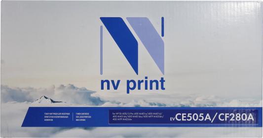 Картридж NV-Print CF280A CF280A CF280A CF280A для для HP Pro 400 M401D M401DW M401DN M401A M401 M425 M425DW M425DN 2300стр Черный