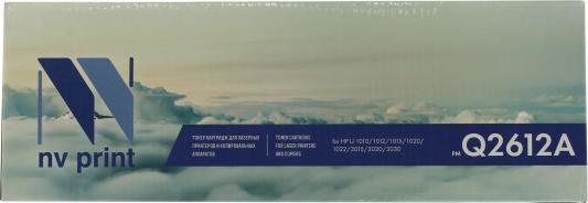 Картридж NV-Print Q2612A для HP LJ 1010/1020 2pcs alzenit oem new for hp 1010 1012 1015 1020 3015 3020 3030 charge roller q2612a printer parts