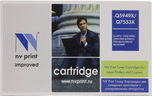 Картридж NV-Print Q5949X для HP LJ 1320 картридж для принтера nv print hp q5949x q7553x black