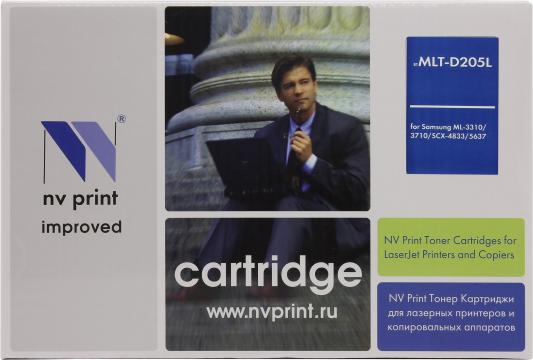 Картридж NV-Print MLT-D205L для Samsung ML-3310/3710/SCX-5637/4833 nv print ml4550b тонер картридж для samsung ml 4050n 4550 4551n 4551nd