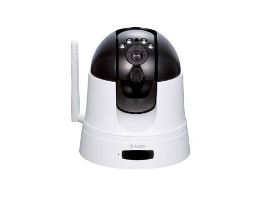 "Камера IP D-Link DCS-5222L CMOS 1/4"" 1280 x 720 H.264 MJPEG RJ-45 Wi-Fi белый"