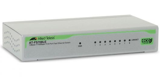 Коммутатор Allied Telesis AT-FS708LE-50 неуправляемый 8 портов 10/100Mbps