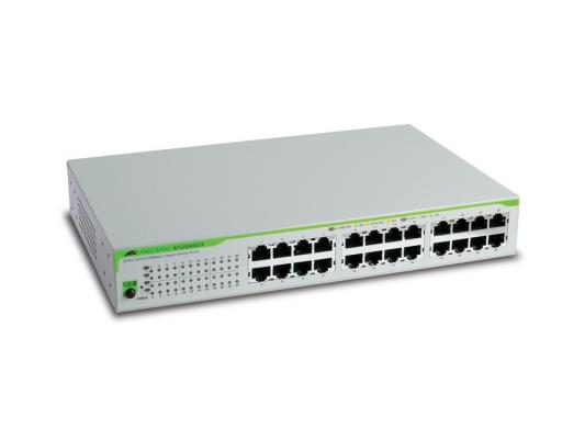 Коммутатор Allied Telesis AT-GS900/24 неуправляемый 24 порта 10/100/1000Mbps