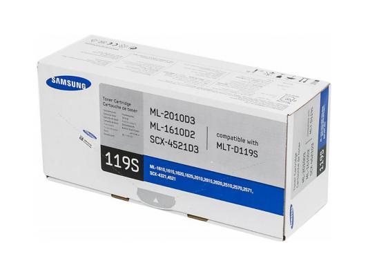 Лазерный картридж Samsung MLT-D119S черный для ML-1615 ML-2015 ML-2510 SCX-4521 2000стр