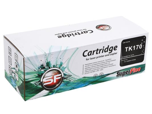 Картридж SuperFine TK-170 для Kyocera FS-1320 FS-1370 7200стр Черный