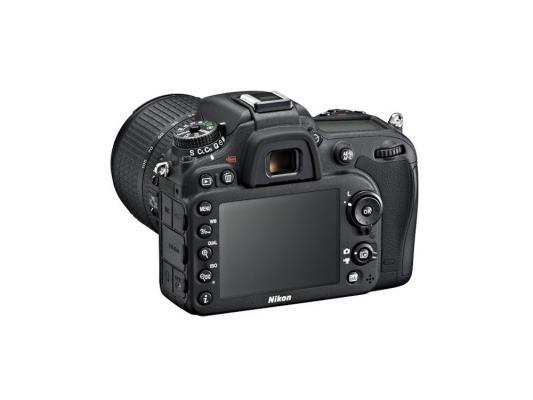 Зеркальная фотокамера Nikon D7100 Kit 18-105 VR 24.7Mp черный nikon d3400 kit 18 105 vr black