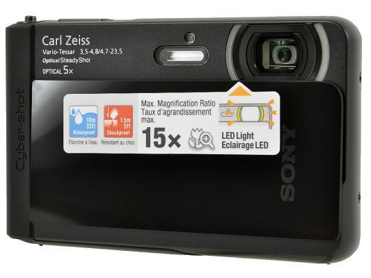 Фотоаппарат Sony Cyber-shot DSC-TX30 18.9Mp 5x Zoom черный