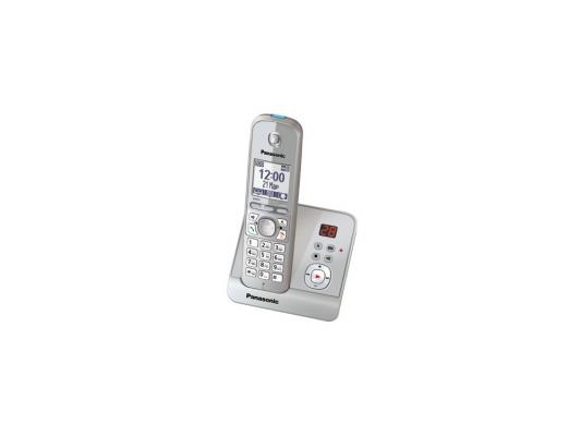 Радиотелефон DECT Panasonic KX-TG6721RUS серебро