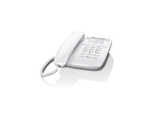 Телефон Gigaset DA410 белый ip телефон gigaset a540 ip