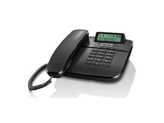 Телефон Gigaset DA610 черный ip телефон gigaset a540 ip