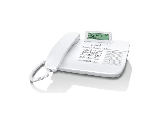Телефон Gigaset DA710 белый ip телефон gigaset a540 ip