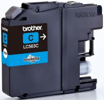 Картридж Brother LC563C для MFC-J2510 Голубой картридж brother lc563c голубой картридж струйный стандартная голубой