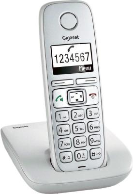 Радиотелефон DECT Gigaset E310 светло-серый gigaset e310