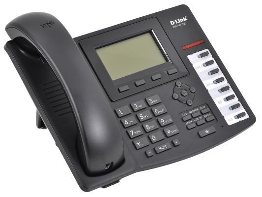 Телефон IP D-Link DPH-400SE/E/F3 2xLAN SIP LCD display