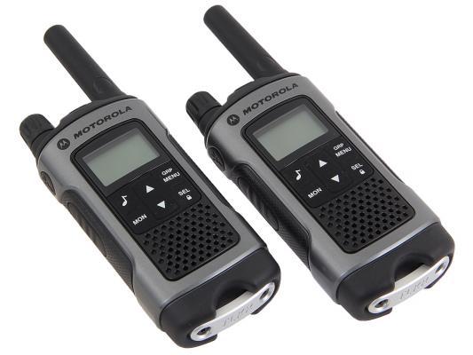Радиостанция Motorola TLKR-T80 серый/черный