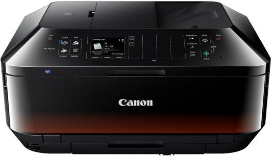 МФУ Canon PIXMA MX924 цветное A4 15ppm 9600x2400 Duplex автоподатчик факс Wi-Fi Ethernet USB 6992В007 мфу canon i sensys colour mf635cx цветное a4 18ppm 600x600dpi ethernet usb wi fi 1475c038