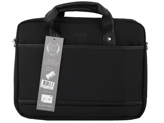 Сумка для ноутбука 15 Continent CC-045 черный нейлон/пвх сумка для ноутбука 15 continent cc 045 серый нейлон пвх