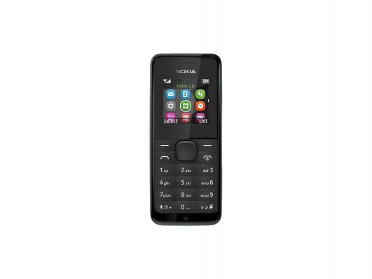 Мобильный телефон Nokia 105 Black черный A00010803