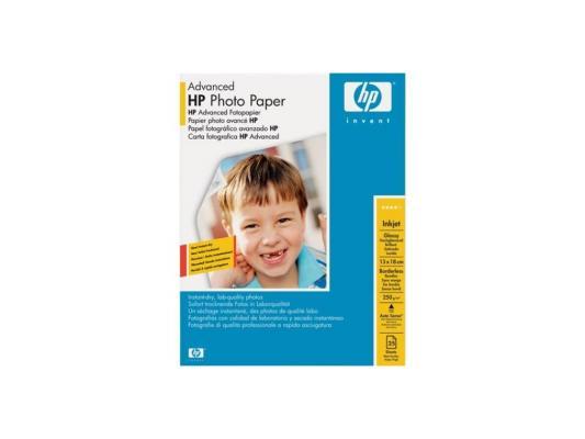 Фотобумага HP 13*18см 250г/кв.м 25л глянцевая Q8696A