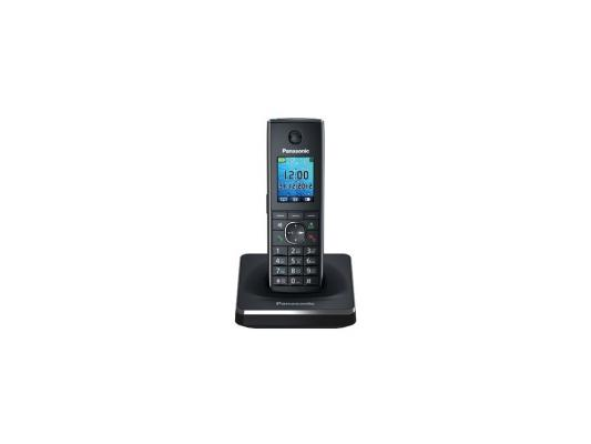 Телефон DECT Panasonic KX-TG8551RUB черный телефон беспроводной dect panasonic kx tg2511rut titan
