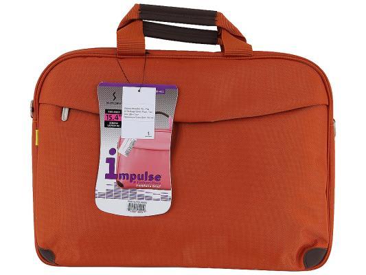 """Сумка для ноутбука 15"""" Sumdex PON-452OG нейлон/полиэстер оранжевый цена и фото"""
