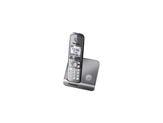 Радиотелефон DECT Panasonic KX-TG6711RUM серый