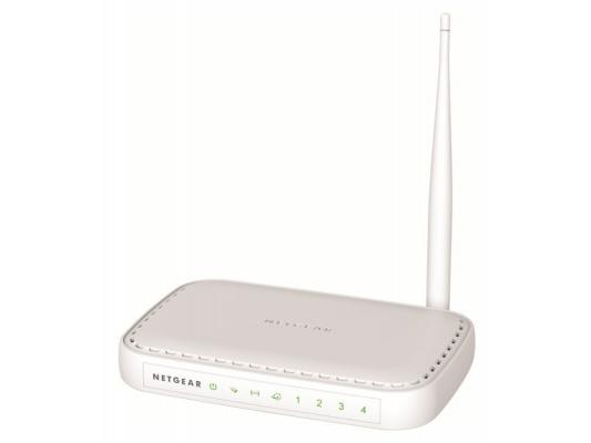 Беспроводной маршрутизатор NETGEAR JNR1010-100RUS 802.11n 150Mbps 2.4ГГц 4xLAN